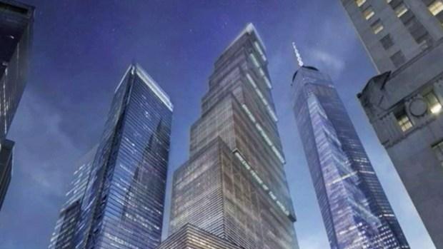 World Trade Center Progress Report