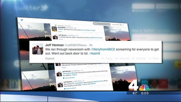 [DC] Tweeting About the TV Station Standoff