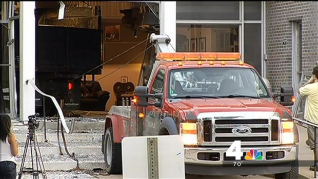 [DC] Suspect in Custody After Truck Rams ABC2 Station in Baltimore County