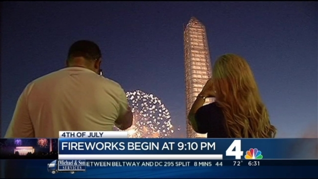 [DC] National Mall Prepares for July 4th Celebrations