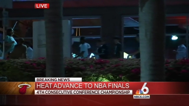 [MI] Miami Heat Win 2014 Eastern Conference Championship