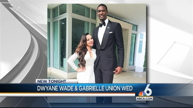 [MI] Dwyane Wade, Gabrielle Union Get Married