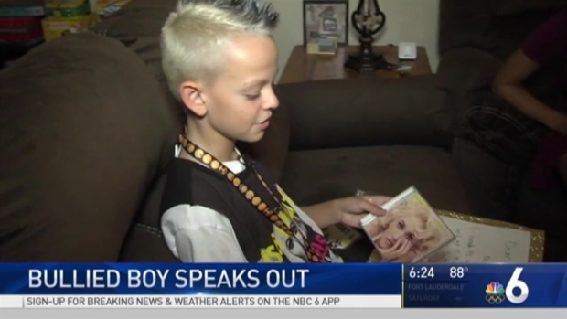 [NATL-MIA] Bullied Boy Who Shared Stage With Gwen Stefani Speaks Out