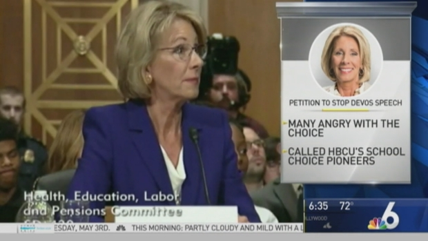 [NATL-MI] Petition Online Wants Betsy Devos Removed as Speaker at Fla. College Commencement