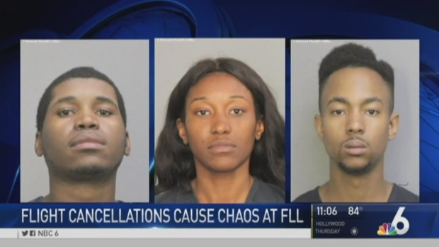[MI] Three Arrested After Chaos at Fort Lauderdale Airport Over Canceled Flights