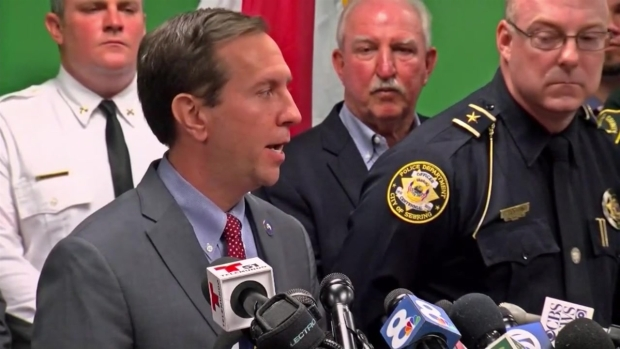 [NATL-MI] Police, Officials Hold Press Conference on Florida Bank Shooting