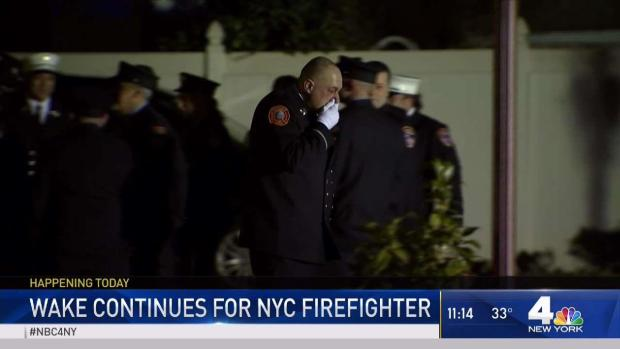 [NY] Wake Continues for NYC Firefighter