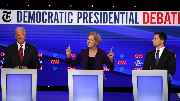 [NY] Dem Debate Highlights: 12 Candidates Face Off on Guns, Syria