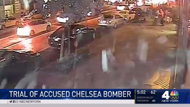 [NY] Witness Cries on Stand at Chelsea Bombing Trial