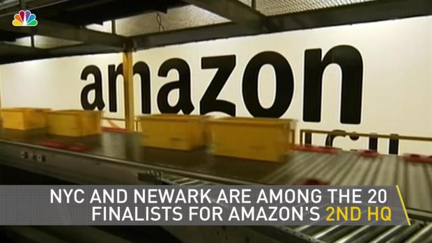 [NY] Newark, NYC on Amazon Shortlist for 2nd Headquarters