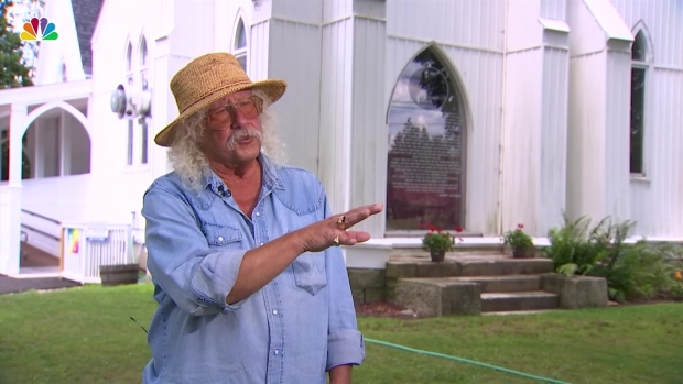 [NY] Full Interview: Arlo Guthrie Looks Back on Woodstock, 50 Years Later