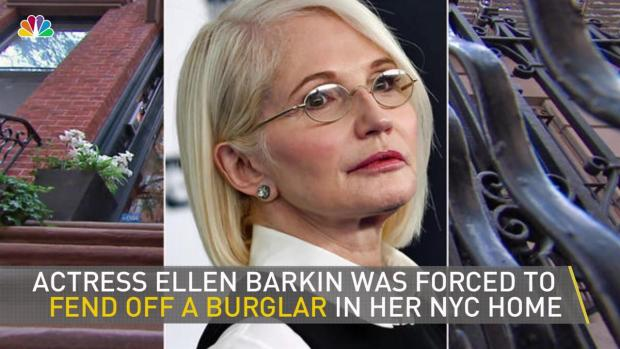 [NY] Actress Ellen Barkin Fends Off Burglar in Her Greenwich Village Home