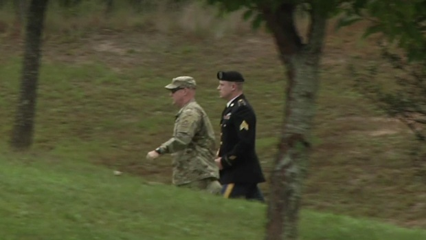[NATL] Army Sergeant Bowe Bergdahl Arrives at Fort Bragg