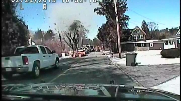 [NY] WATCH: Dashcam Video Captures New Jersey Gas Explosion
