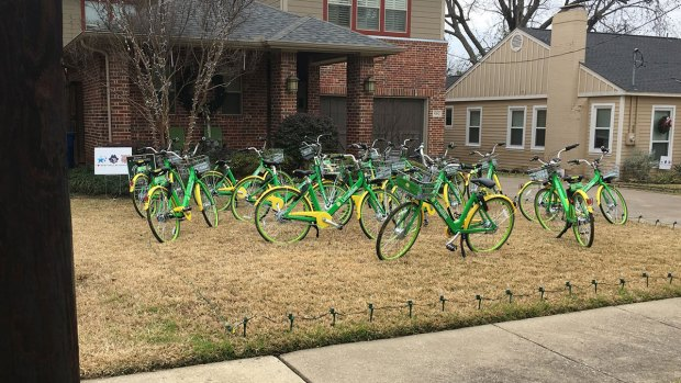 Dallas Family 'Biked' by Prankster