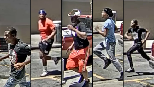 [NY] Downtown Brooklyn Shooting Suspects Caught on Surveillance Video