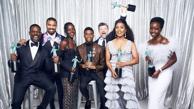 [NATL] 'Black Panther' Wins Big at SAG Awards