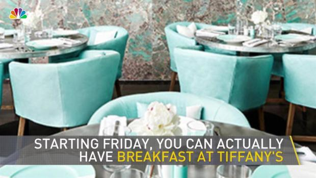 [NY] Now You Can Quite Literally Have Breakfast at Tiffany's