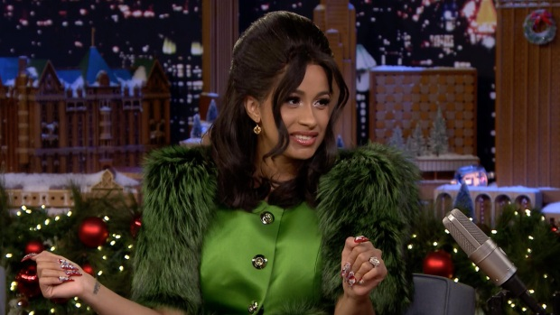[NATL] 'Tonight': Rapper Cardi B Shares Where Her Name Came From
