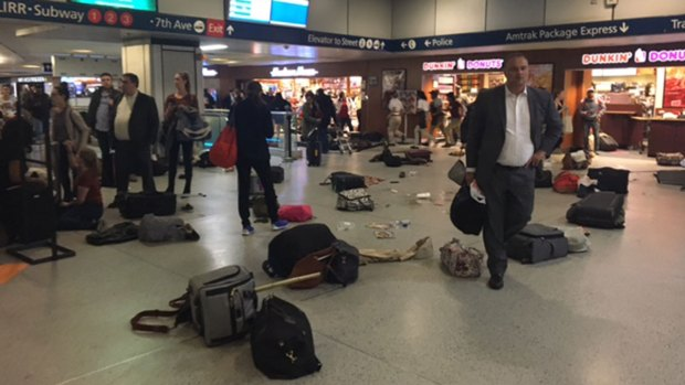 Social Media Video Shows Panic During Penn Station Stampede