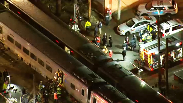 Dramatic Images: Dual LIRR Crashes Leave 3 Dead, Service Mucked Up