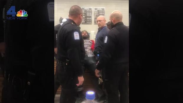 [NY] Backlash After Black College Student Pinned Down by Campus Security Officers