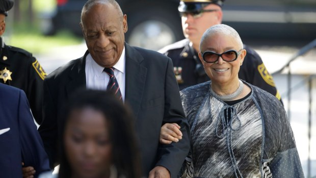 [NATL-PHI] Camille Cosby Calls Out DA, Judge in Prepared Statement