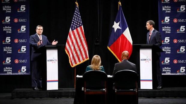 [NATL-DFW] Sparks Fly in First Cruz, O'Rourke Debate: Full Debate