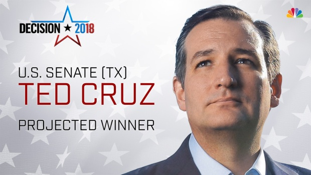 [DFW] Ted Cruz Wins Senate Race, Holds-Off Challenger O'Rourke