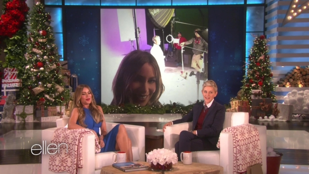 [NATL] 'Ellen': Sofia Vergara Dishes on Her Wedding to Joe Manganiello