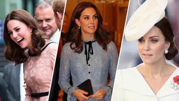 Wardrobe Watch: Catherine, Duchess of Cambridge