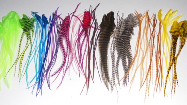 Feather Extension Fad Sparks Unlikely Fashion vs. Fly-Fishing Debate
