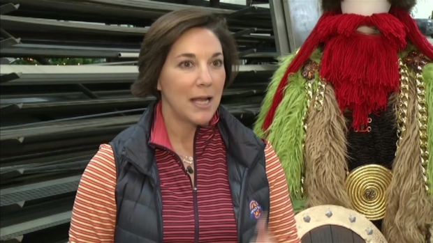 [AP] First Look: Macy's 2013 Thanksgiving Day Parade Balloons
