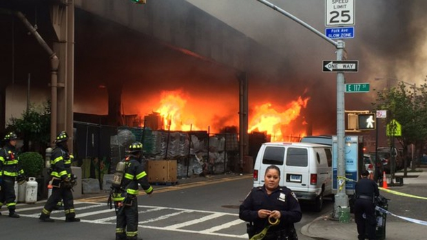 [NY] Fire Beneath Metro-North Tracks Brings Back Memories of Deadly Gas Explosion