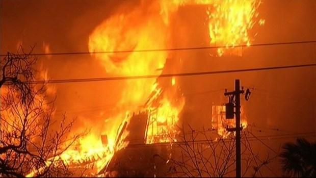 5-Alarm Fire Rages at San Jose Warehouse