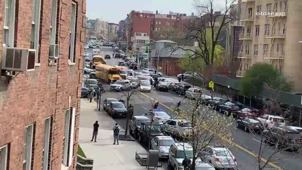 [NY] Witness Video Shows Scene Where Officer Reported Shot