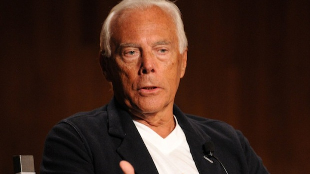 "Armani Hates Hollywood, Thinks There's ""No Genius Capable"" of Replacing Him"