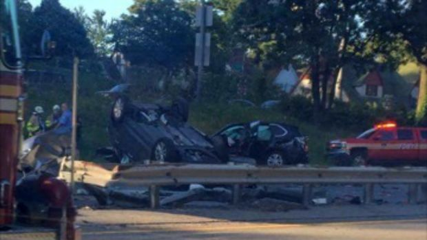 Queens pileup leaves one dead, eight injured