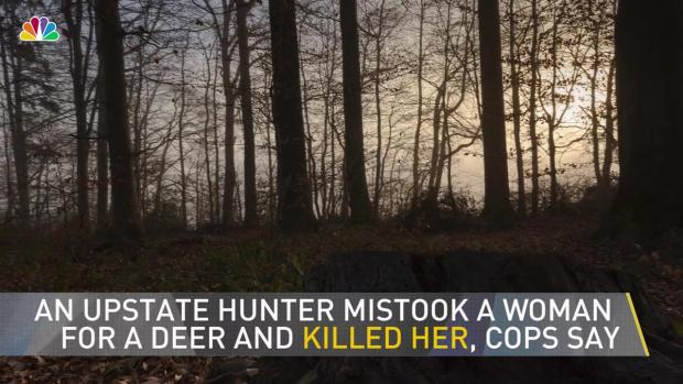 Upstate Hunter Mistakes Woman for Deer