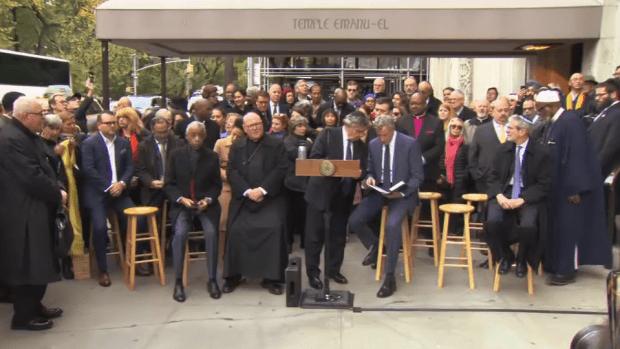 [NY] Interfaith Vigil in NYC After Synagogue Shooting