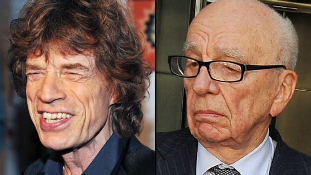 Mick Jagger Wants to Play Rupert Murdoch