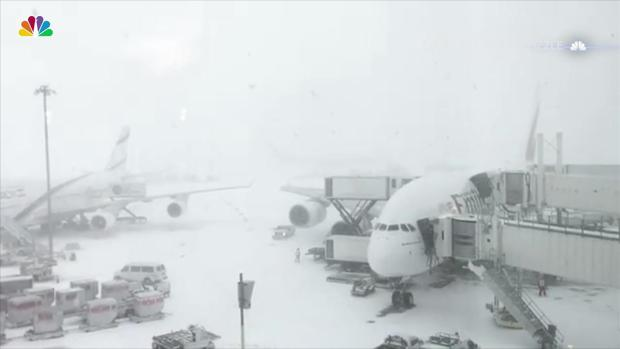 Complete and Utter Whiteout at JFK