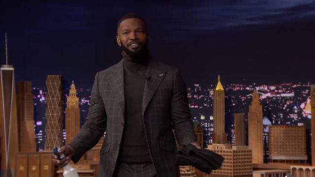 [NATL] 'Tonight': Jamie Foxx Has Footage of Whitney Houston Singing Karaoke