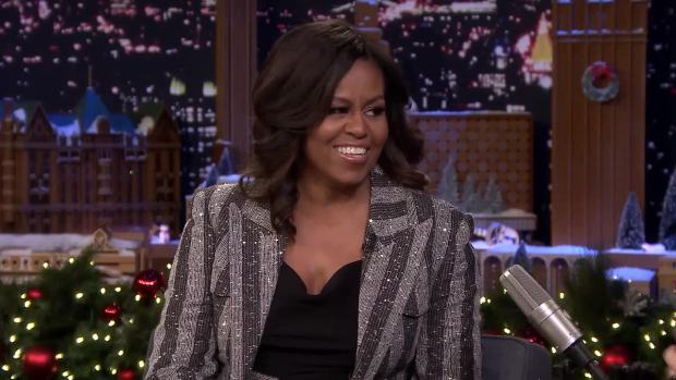 [NATL] 'Tonight': Michelle Obama Gets Real on Marriage Counseling
