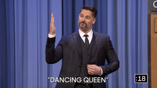 [NATL] 'Tonight Show': Charades With Jessica Chastain and Joe Manganiello