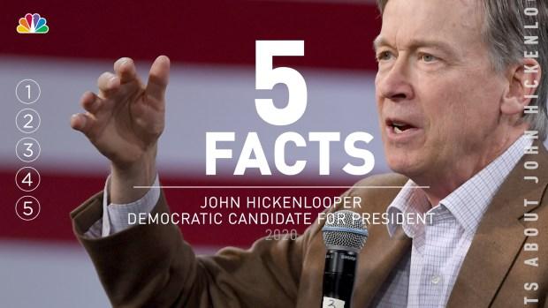 [NATL] 5 Facts: John Hickenlooper