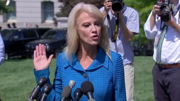 [NATL] Conway Asks Reporter: 'What's Your Ethnicity?""