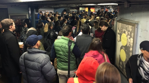 Commuter Chaos After Derailment, Flooding
