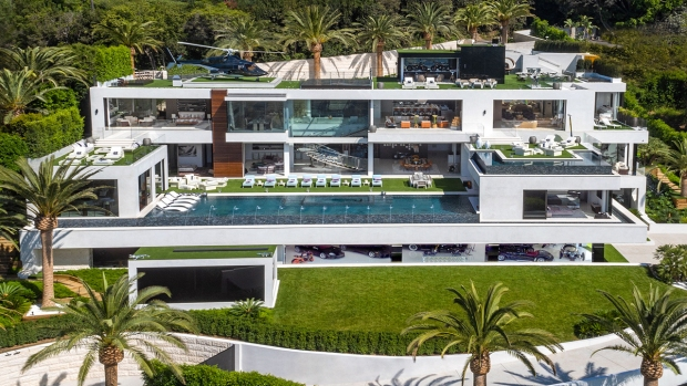 [NATL-LA] Most Expensive Home in the US Has James Bond-Themed Theater, Exotic Cars Fleet and Your Own Masseuse