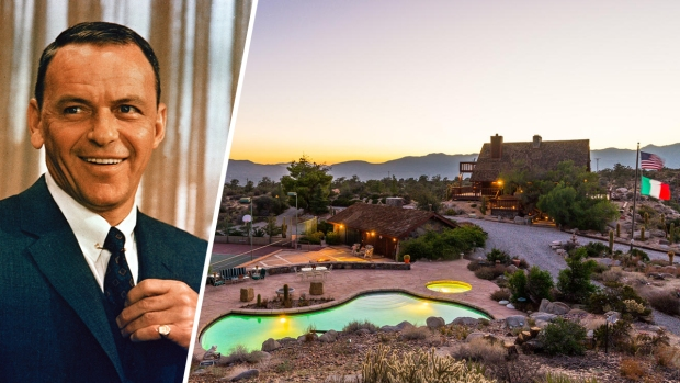[NATL-LA] Frank Sinatra's Lavish Desert Hideaway Listed for $3.9M